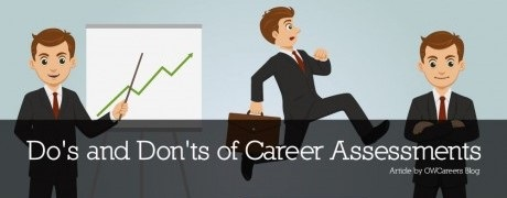 Career Assessment - Do's And Don'ts