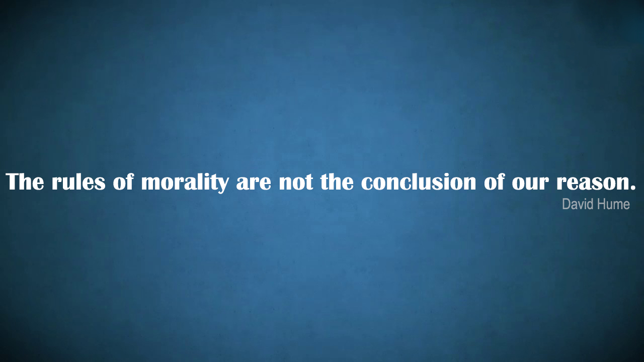 Importance Of Morality In Society