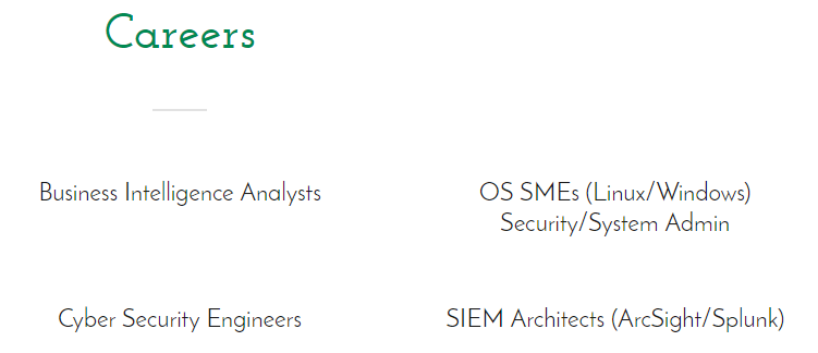 OS SMEs (Linux/Windows) Security/System Admin
