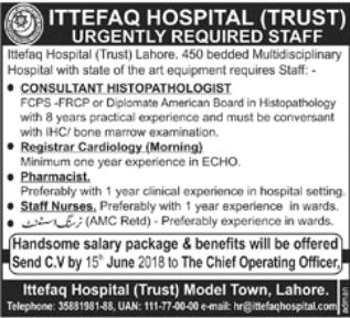 Registrar Cardiology