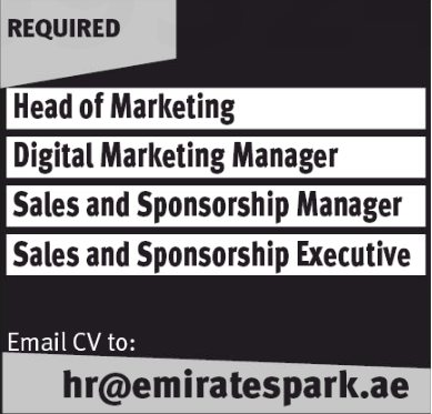 Sales Executive in a company United Arab Emirates