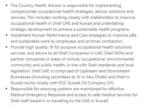 Country Head Advisor in a company United Arab Emirates Dubai