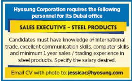 Sales Consultant in a company United Arab Emirates Dubai