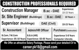 Human Resource Officer in a company Pakistan Lahore