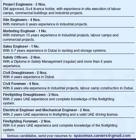 Marketing Engineer in a company United Arab Emirates Dubai
