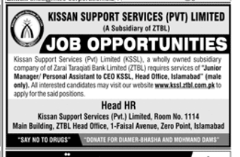 Personal Assistant in a company Pakistan Karachi