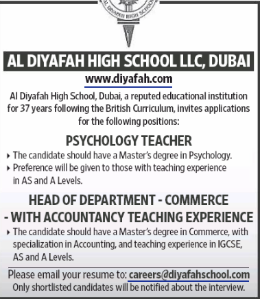Accountant in a company United Arab Emirates Dubai