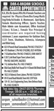 Physics Teacher in a company Pakistan Lahore