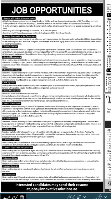 HR Executive in a company Pakistan Karachi